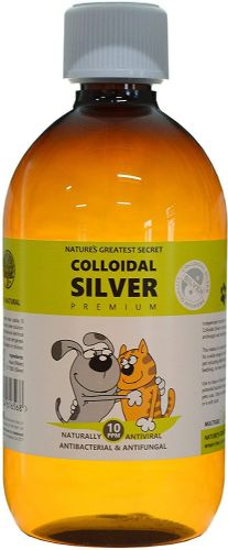 Natures Greatest Secrets 10PPM Colloidal Silver For Pets 500ml
